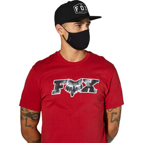 Fox Face Mask Men, black tie dye